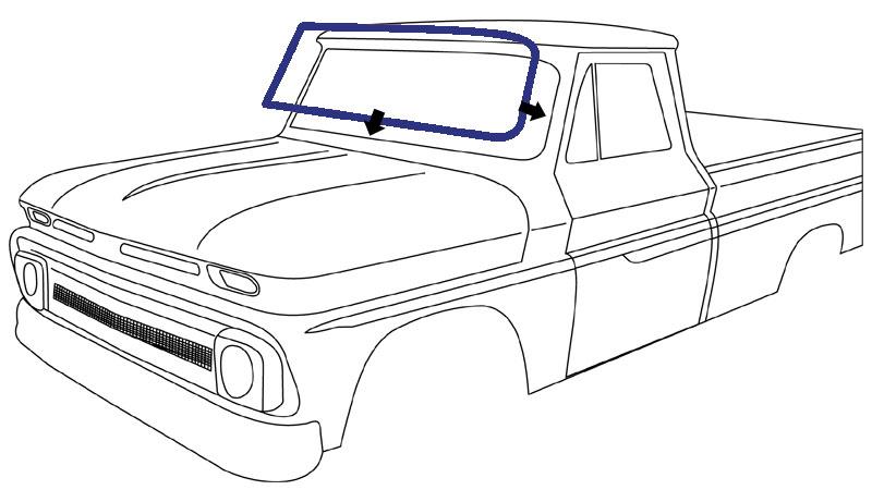 1960 chevy apache stepside parts