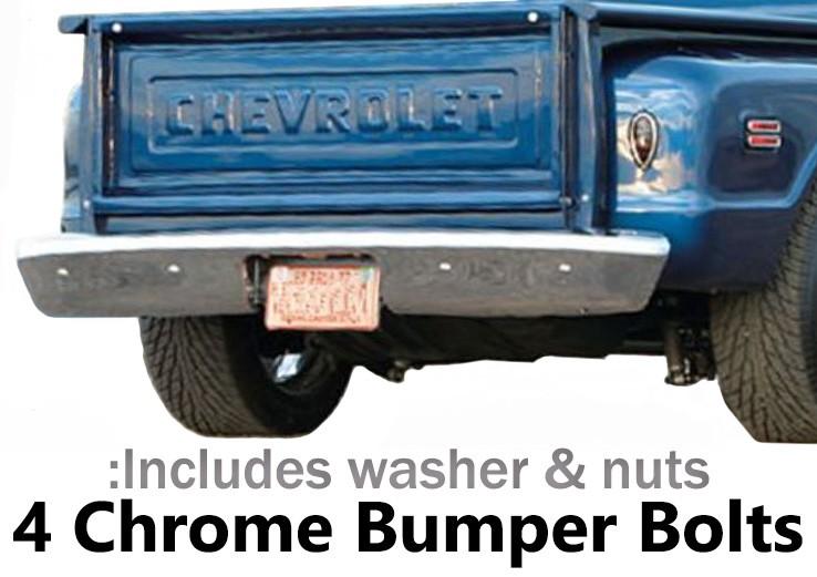 1973-80 Fullsize Chevy & GMC Stepside Truck Rear Bumper Bolt