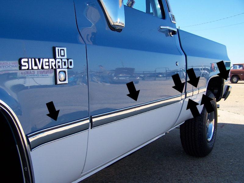 1981-87 Fullsize Chevy & GMC Truck Fleetside Body Side ...