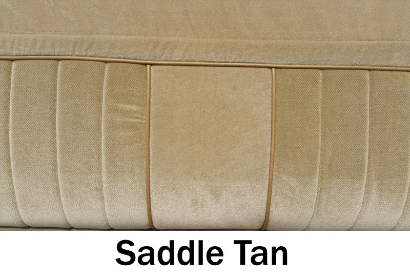 1981 1987 Chevy Truck Front Vinyl Cloth Bench Seat Cover
