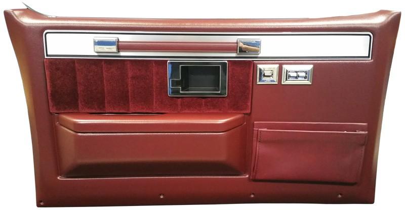 1981 1987 Fullsize Chevy Truck Silverado Door Panels