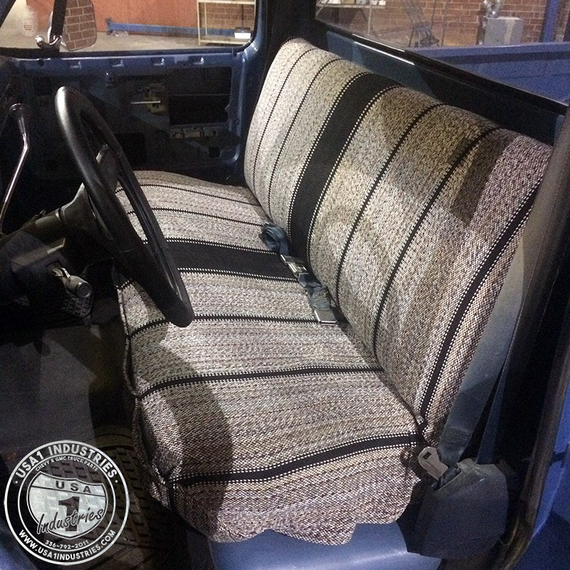 Awe Inspiring 1973 87 Fullsize Chevy Gmc Truck Saddle Blanket Seat Cover Bralicious Painted Fabric Chair Ideas Braliciousco