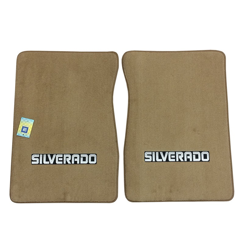 1973-74 Fullsize Chevy Truck Carpet Floor Mats With