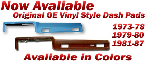 Original OE Vinyl Dash Pads For Sale!!