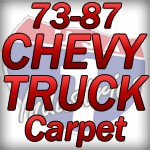 1973-1987 Chevy Truck Carpet