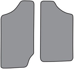 1982-93 S10 & S15 Reg.Cab Pickup Floor Mats 2pc.