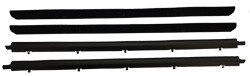 1982-93 Chevy S10 & GMC Sonoma Truck Beltline Window Felts 4pc. set