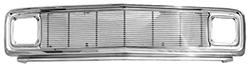 1969-72 Chevy & GMC Truck Chrome Grille Assembly with 4 mil Billet Inserts