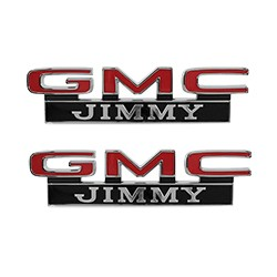 1971-72 GMC Jimmy Fender Side Emblems