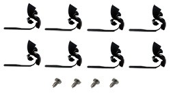 1969-72 Chevy & GMC Truck Tailgate Molding Clip Kit, 8 Piece
