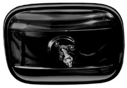1947-1972 Chevy & GMC Truck Outside Rectangular Mirror Head, Black