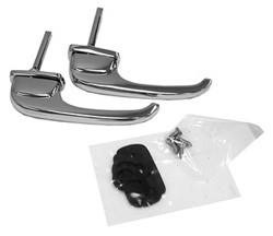 1947-51 Chevy & GMC Truck Chrome Outside Door Handles, Pair