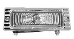1947-53 Chevy Truck 6 Volt Parking Lamp Assembly, Clear
