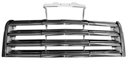1947-53 GMC Truck Chrome Front Grille Assembly w/ Brackets