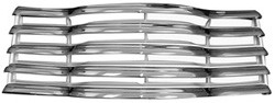 1947-53 Chevy Truck Front Chrome Grille Assembly w/ Rear Brackets