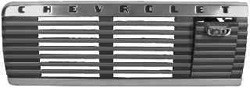 1947-53 CHEVY Truck Dash Speaker Grille with Ash Tray
