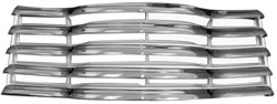 1947-53 Chevy Truck Front Grille Assembly w/ Rear Brackets (Chrome & White)
