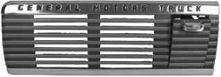 1947-53 GMC Truck Dash Grille with Ash Tray