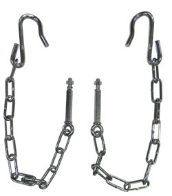 1954-87 Chevy & GMC Stepside Truck Tailgate Chains, Pair