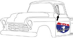 1955-59 Chevy & GMC Truck Vent Window Seals