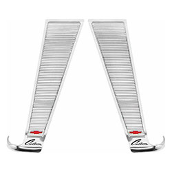 1960-63 CHEVY Custom Truck Cab Moldings, Stainless Steel