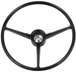 1967-68 Chevy & GMC Truck Stock Black Steering Wheel