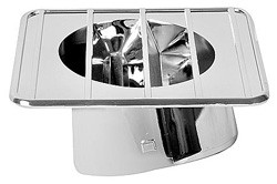 1967-72 Chevy & GMC Truck Defroster Top Vent Chrome, Left