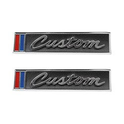 1967-68 Chevy & GMC Truck Door Emblems, Custom