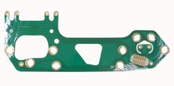 1967-72 Chevy & GMC Truck Printed Circuit Board With Gauges and Tach