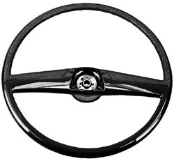 1969-72 Chevy & GMC Truck Stock Black Steering Wheel