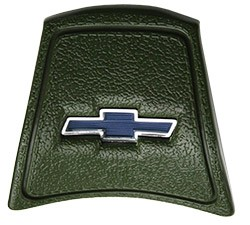 1969-72 Chevy Truck Green Horn Cap with Blue Bowtie logo