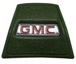 1969-72 GMC Truck Green Horn Cap with Red GMC logo