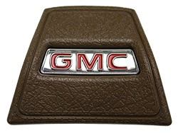 1969-72 GMC Truck Saddle Horn Cap with Red GMC Logo