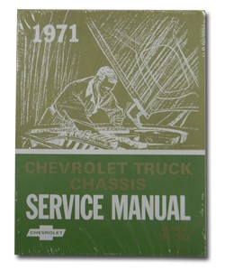 1971 Chevy & GMC Truck Chassis Service Manual