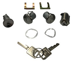 1967-72 Chevy & GMC Truck Ignition, Doors, & Glovebox Door Lock Set