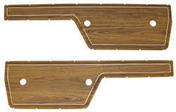 1972 Chevy & GMC Truck Door Panel Inserts, Woodgrain