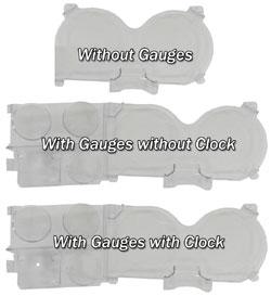 1973-80 Fullsize Chevy & GMC Truck Dash Instrument Lens