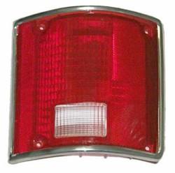 1973-87 Fullsize Chevy & GMC Fleetside Truck Tail Light Lens, with Trim, Right
