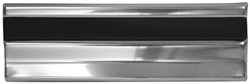 1973-80 Fullsize Chevy & GMC Truck Cab Body Side Molding, Each