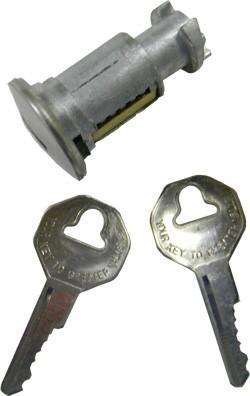 1973-89 Chevy & GMC Blazer & Surburban Tail Gate Handle Lock Cylinder, W/Keys