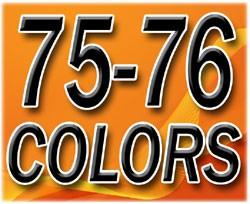 1975-76 Fullsize Chevy & GMC Truck Interior Vinyl & Plastic Dye Original Colors