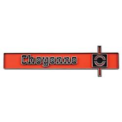 1975-80 Fullsize Chevy Truck Cheyenne Dash Emblem