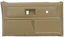 1977-80 Fullsize Chevy & GMC Truck Custom Deluxe Door Panels Original Colors