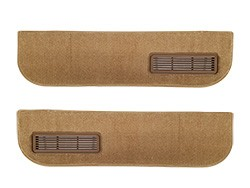 1981-87 Fullsize Chevy & GMC Truck Lower Door Panel Carpet Original Colors