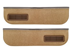1981-87 Fullsize Chevy & GMC Truck Lower  Door Carpet and Molding Kit