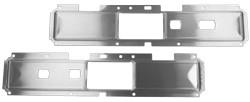 1977-80 Fullsize Chevy & GMC Truck Door Panel Center Aluminum Trim Panel, Pair