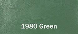 1980 Chevy & GMC Fullsize Truck Interior Color Sample Kit, Green