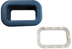 1981-87 Fullsize Chevy & GMC Truck Seat Cover Seat Belt Reinforcement Bezel Original Colors