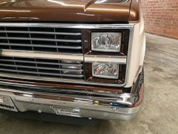 1981-87 Fullsize Chevy & GMC Truck Custom Clear Dual Headlight, Lower
