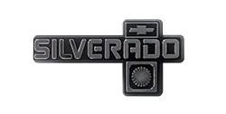 1981-87 Fullsize Chevy Truck Silverado Dash Emblem